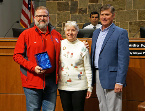 S.C. Member, Don McDaniel – Flower Mound's 2018 Outstanding Citizen of the Year!