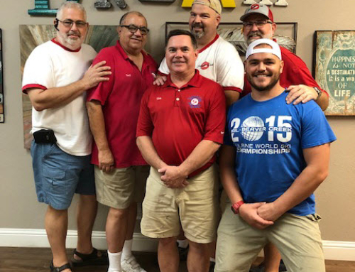 Summit Club Members Help With Repairs at Kyle's Place
