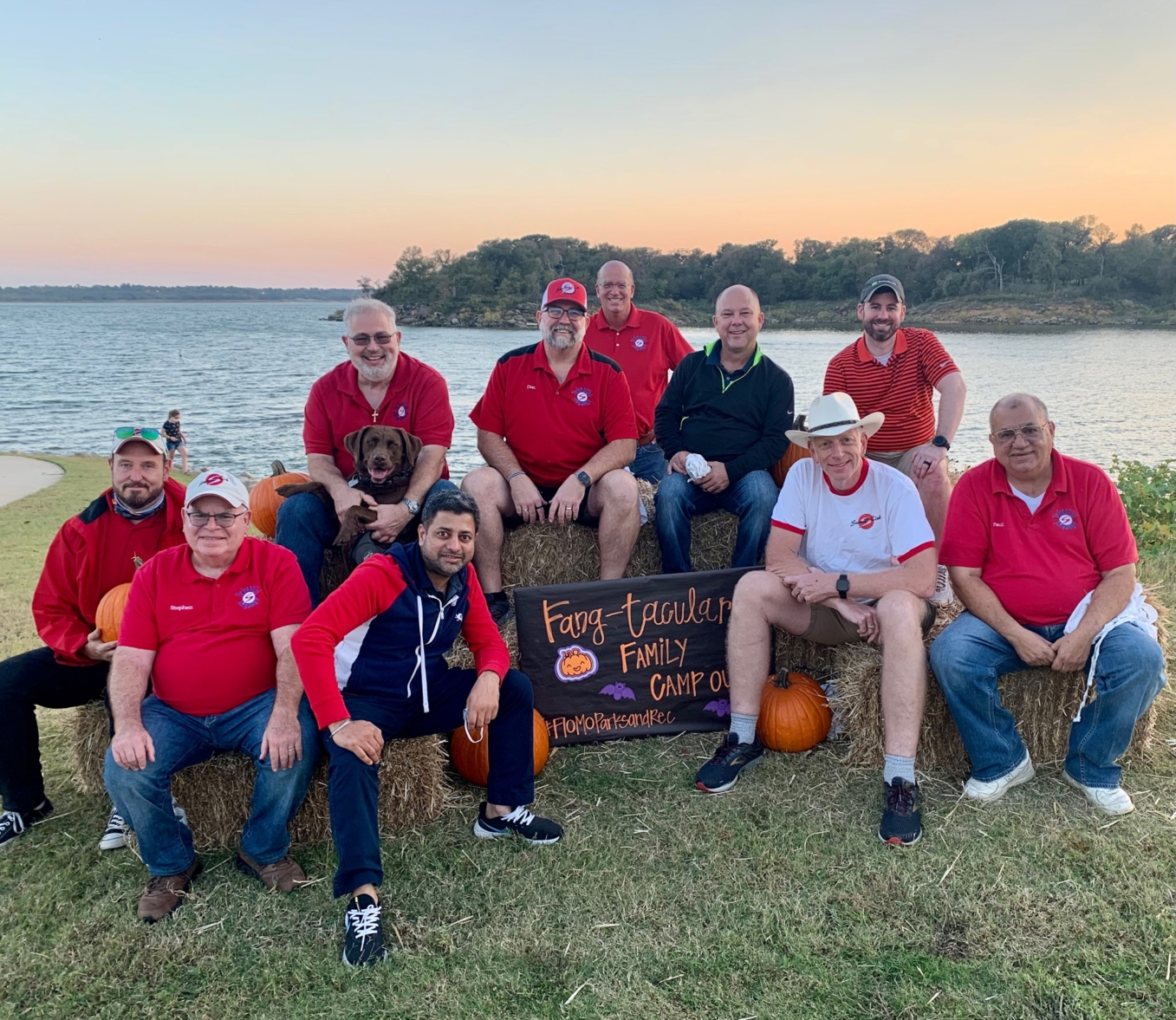 Summit Club cooks for Flower Mound Family Campout at Twin Coves Park